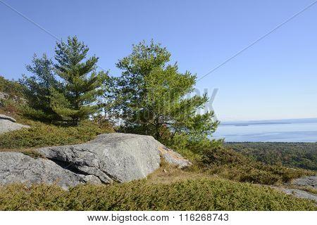 View From Mount Battie In Camden Maine
