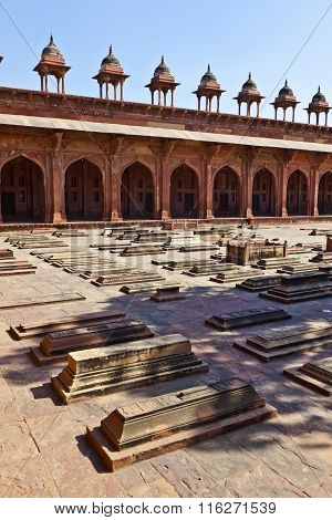 Jama Masjid In Fatehpur Sikri Is A Mosque In Agra, Completed In 1571
