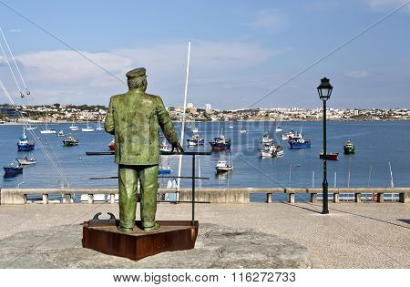 Statue Of King Charles I Of Portugal