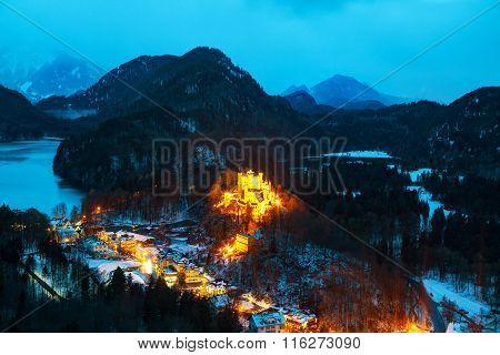 Hohenschwangau Castle In Bavaria, Germany