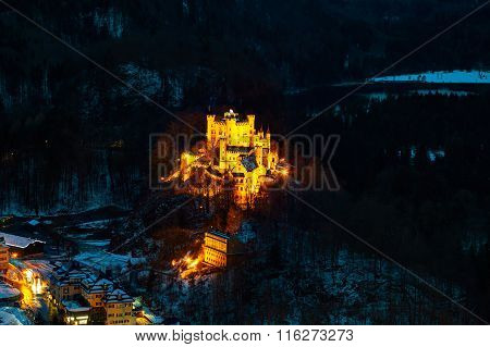 Hohenschwangau Castle In Bavaria, Germany