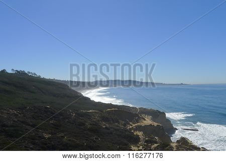 Coastline near La Jolla