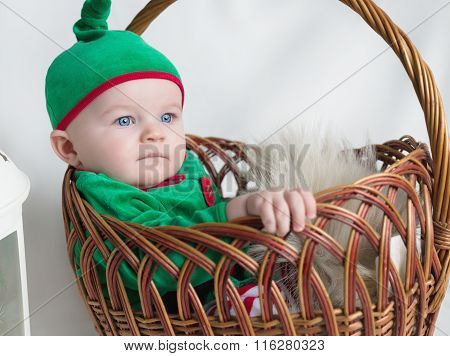 The Kid In A Green Elf Suit