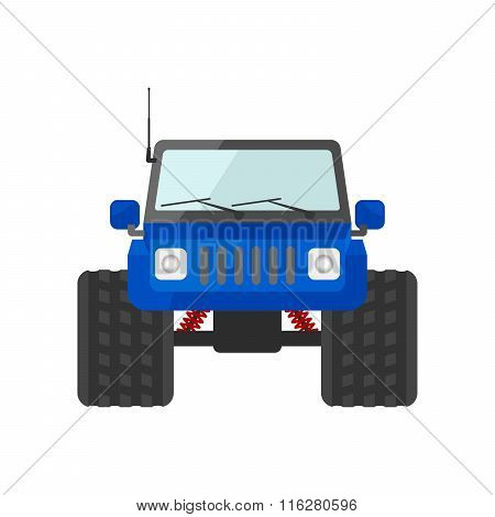 Image Of A Blue Suv Toy Car