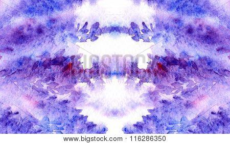 Watercolor Lavender Violet Purple Crimson Floral Background Texture