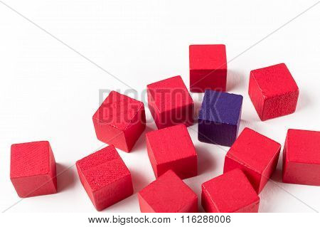 Red And Blue Mini Blocks