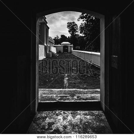 Doorway to Imogiri