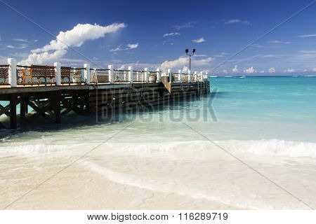Pier at Grace Bay
