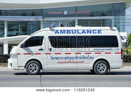 Ambulance Van Of Thanyarak Hospital
