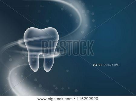 Dental background design