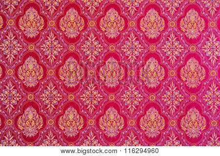 Thai Fabric For Buddhist Ritual