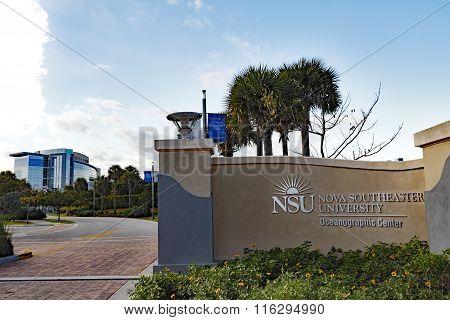 NSU Nova Southeastern University