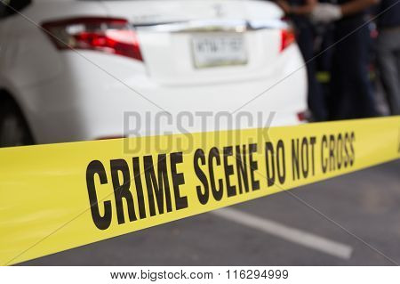 vehicle Crime Scene