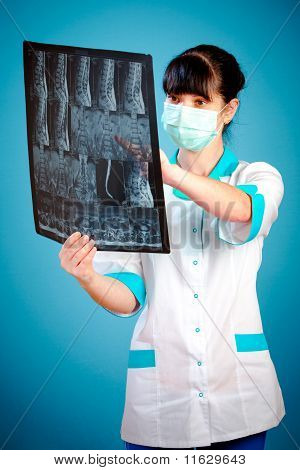 Doctor With Xray
