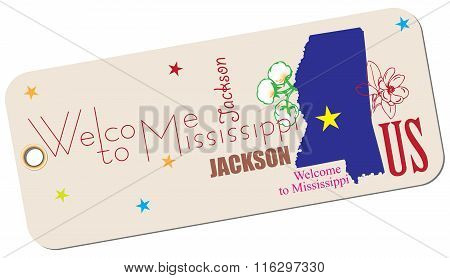 Label Welcome To Mississippi