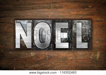 Noel Concept Metal Letterpress Type