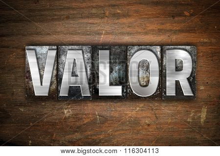 Valor Concept Metal Letterpress Type