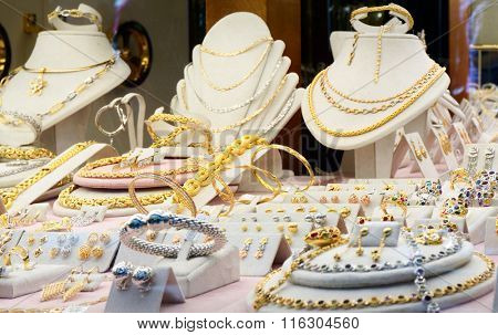 Jewelry market display