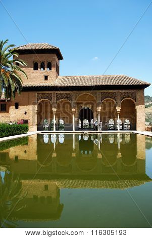 Partal Gardens, Alhambra Palace.