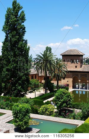 Partal Gardens, Alhambra Palace.
