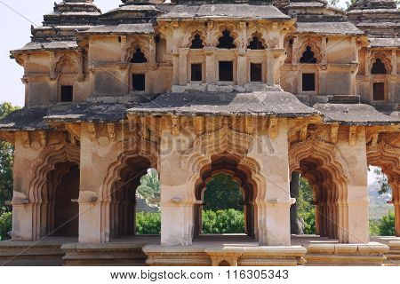 Temple of the Lotus and Hampi