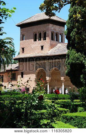 Partal building, Alhambra Palace.