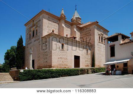 Santa Maria Church, Alhambra Palace.