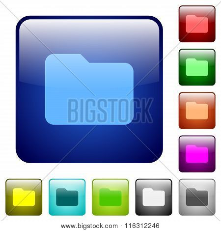 Color Folder Square Buttons
