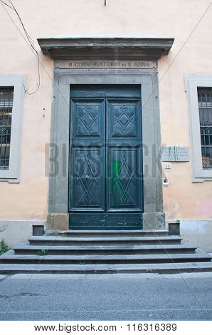 Portone Di Entrata Del Conservatorio Sant' Anna, Pisa
