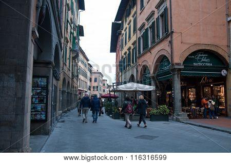 Pisa's Historic Center,