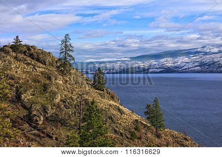 Okanagan Lake Kelowna British Columbia Canada