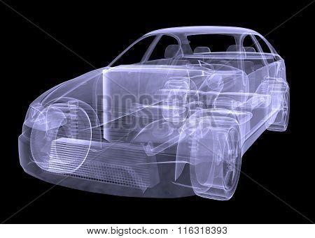 Xray of car