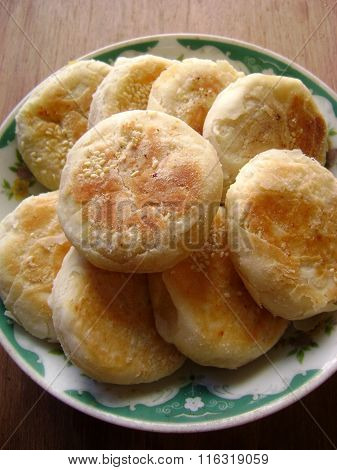 Chinese meat pasty