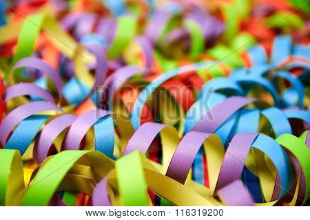 Paper Ribbons Background