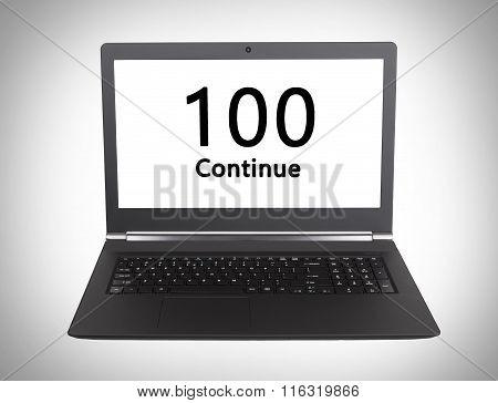 Http Status Code - 100, Continue