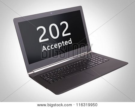 Http Status Code - 202, Accepted