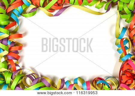 Copyspace Between Paper Ribbons