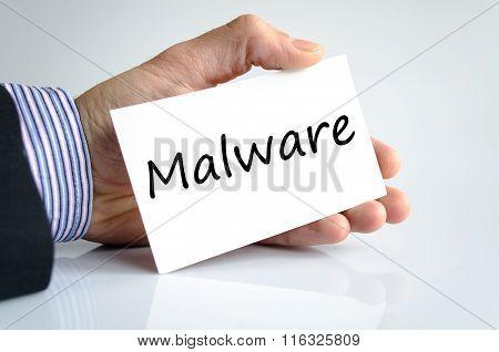 Malware Text Concept