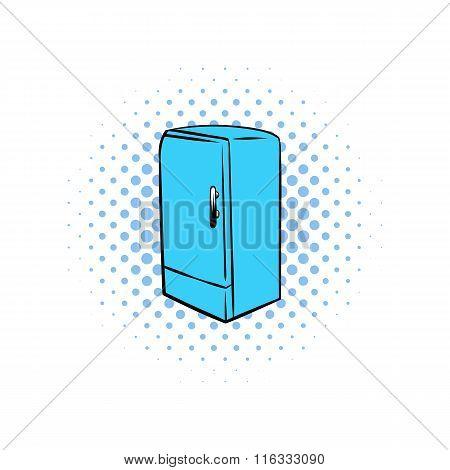 Blue fridge comics icon