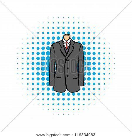 Wedding jacket comic icon