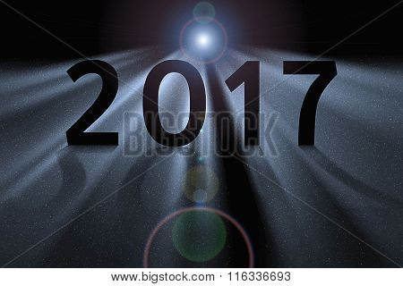Silver Concept For 2017 In Deep Space