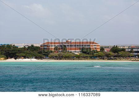 Orange Resort On Coast