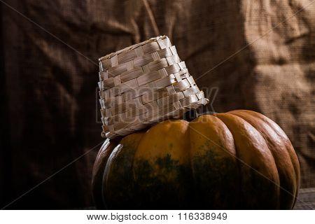 Cucurbita With Basket