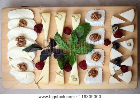 Set Of Tasty Cheese