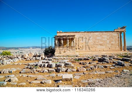 Statue Acropolis Athens