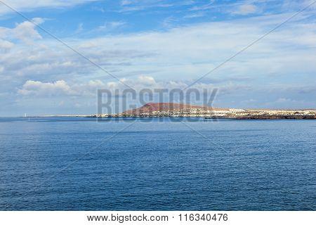 View To Playa Blanca From Playa De Papagayo