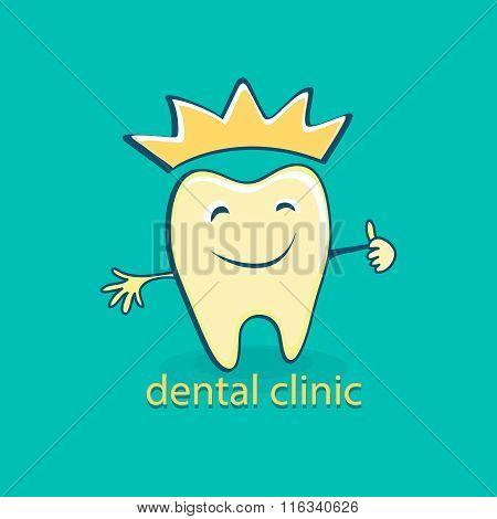 Dental icon. Stomatology