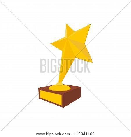 Star award cartoon icon