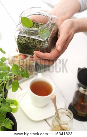 Brewing herbs. The composition of herbs