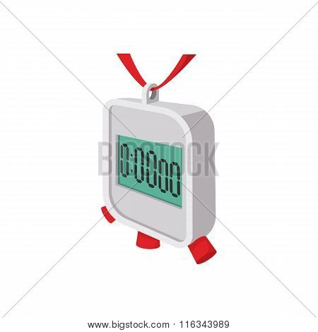 Stopwatch cartoon icon